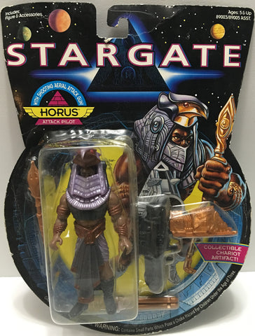 (TAS032447) - 1994 Hasbro Stargate Action Figure - Horus Attack Pilot, , Action Figure, Hasbro, The Angry Spider Vintage Toys & Collectibles Store  - 1