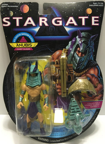 (TAS032449) - 1994 Hasbro Stargate Action Figure - Anubis Chief Guard, , Action Figure, Hasbro, The Angry Spider Vintage Toys & Collectibles Store  - 1