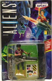 (TAS032451) - 1992 Kenner Aliens Action Figure - Space Marine Lt. Ripley, , Action Figure, Kenner, The Angry Spider Vintage Toys & Collectibles Store  - 1