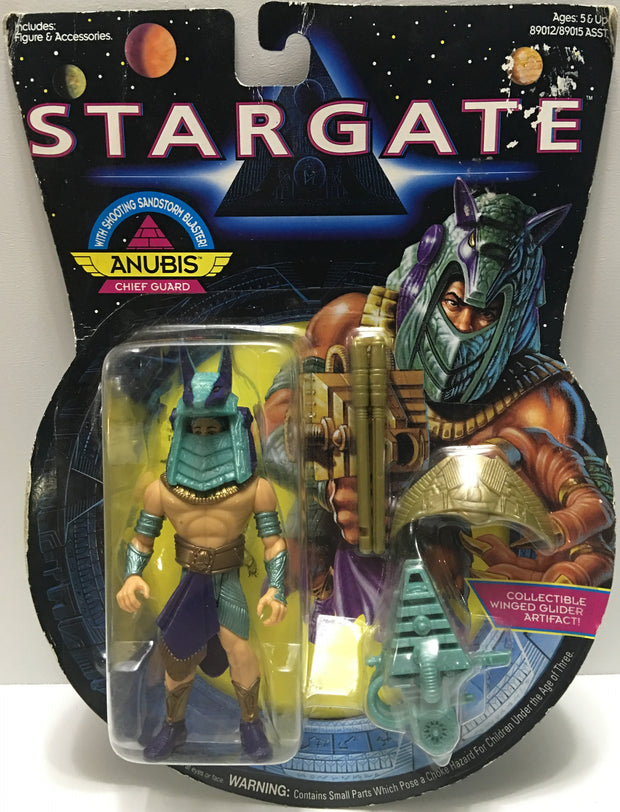 (TAS032453) - 1994 Hasbro Stargate Action Figure - Anubis Chief Guard, , Action Figure, Hasbro, The Angry Spider Vintage Toys & Collectibles Store  - 1