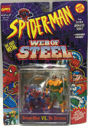 (TAS032455) - 1994 Marvel Spider-Man Web of Steel - Spider-Man & Dr. Octopus, , Action Figure, Spiderman, The Angry Spider Vintage Toys & Collectibles Store  - 1