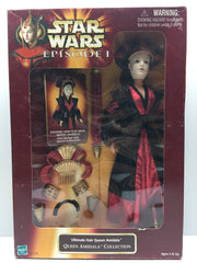 (TAS032471) - 1998 Hasbro Star Wars Episode I Ultimate Hair Queen Amidala Figure, , Action Figure, Star Wars, The Angry Spider Vintage Toys & Collectibles Store  - 1