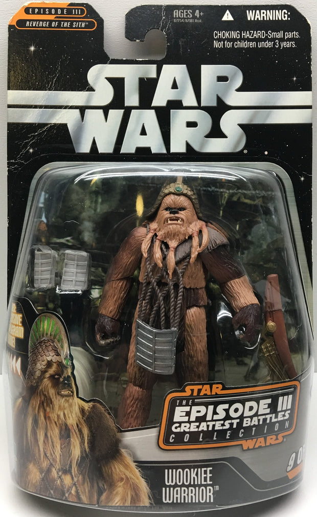 (TAS032477) - 2006 Hasbro Star Wars The Episodes III - Wookiee Warrior, , Action Figure, Star Wars, The Angry Spider Vintage Toys & Collectibles Store  - 1