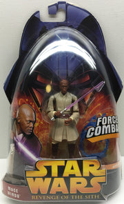(TAS032482) - 2005 Hasbro Star Wars Revenge of the Sith Figure - Mace Windu, , Action Figure, Star Wars, The Angry Spider Vintage Toys & Collectibles Store  - 1