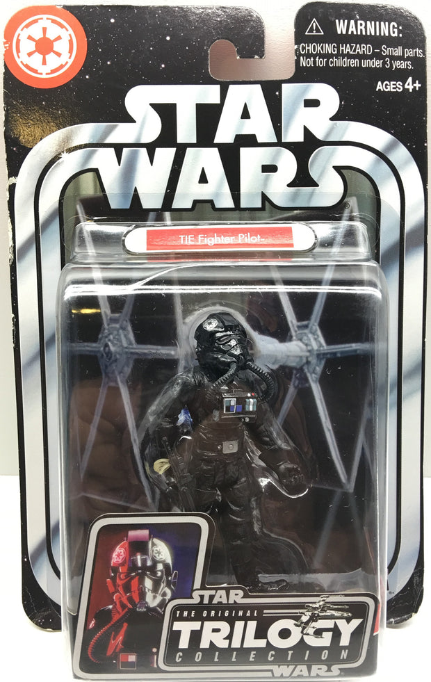 (TAS032485) - 2004 Hasbro Star Wars The Original Trilogy - Tie Fighter Pilot, , Action Figure, Star Wars, The Angry Spider Vintage Toys & Collectibles Store  - 1