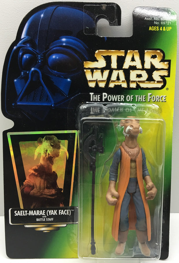 (TAS032490) - 1997 Hasbro Star Wars The Power of the Force Figure - Saelt-Marae, , Action Figure, Star Wars, The Angry Spider Vintage Toys & Collectibles Store  - 1