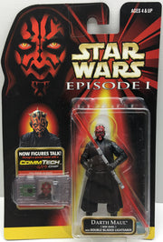 (TAS032496) - 1998 Hasbro Star Wars Episode I Figure - Darth Maul, , Action Figure, Star Wars, The Angry Spider Vintage Toys & Collectibles Store  - 1