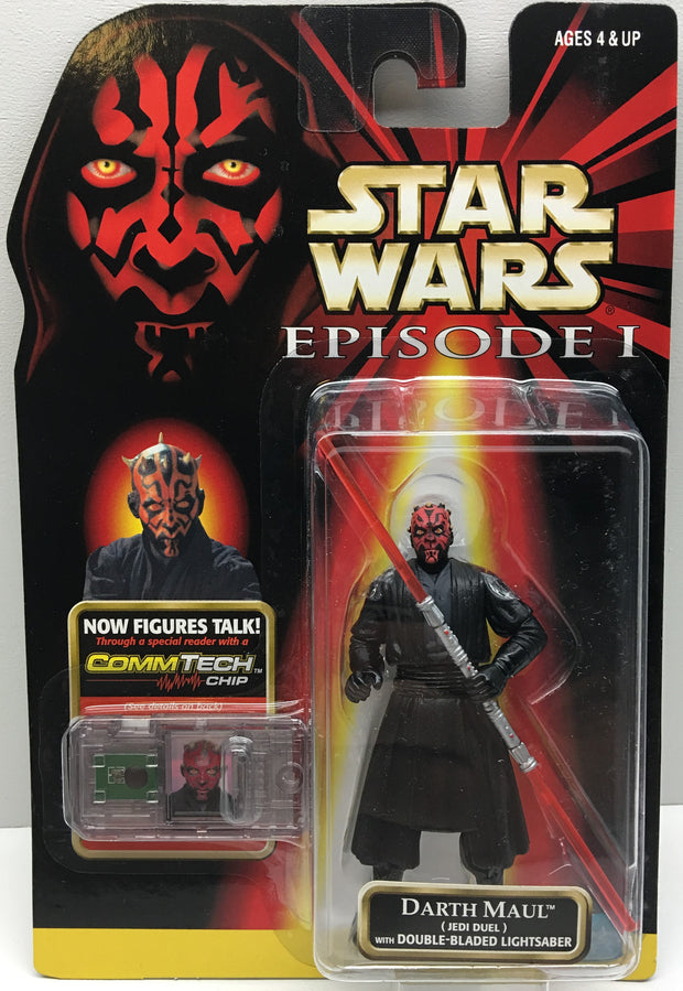 (TAS032502) - 1998 Hasbro Star Wars Episode I Figure - Darth Maul, , Action Figure, Star Wars, The Angry Spider Vintage Toys & Collectibles Store  - 1