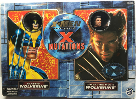 (TAS032507) - 2000 Toy Biz Marvel X-Men The Movie X Mutations - Wolverine, , Action Figure, X-Men, The Angry Spider Vintage Toys & Collectibles Store  - 1