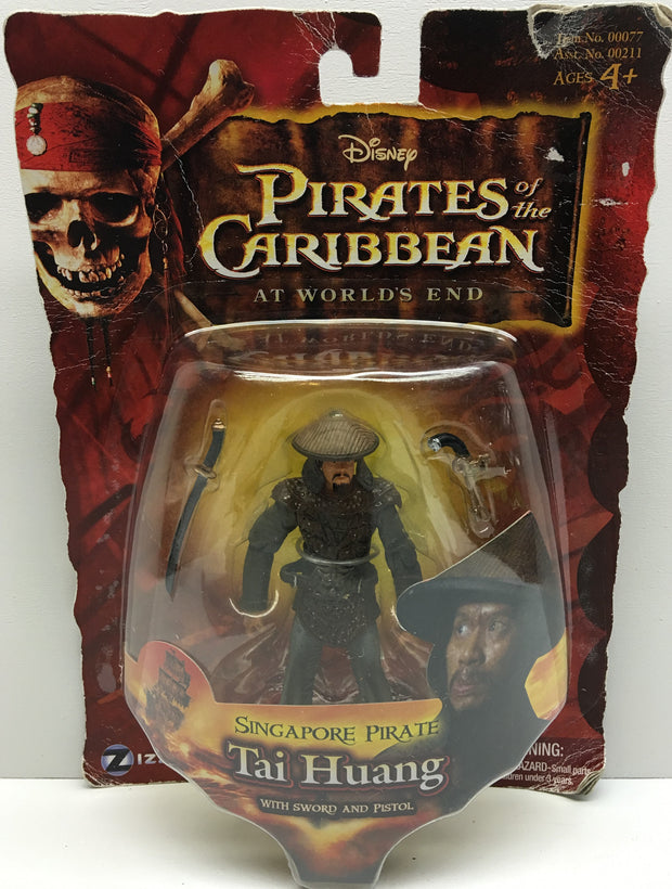 (TAS032510) - 2007 Disney Pirates of the Caribbean At World's End - Tai Huang, , Action Figure, Disney, The Angry Spider Vintage Toys & Collectibles Store  - 1