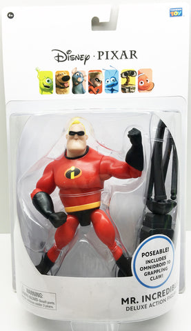 (TAS032511) - Thinkway Toys Disney Pixar Deluxe Action Figure - Mr. Incredible, , Action Figure, Disney, The Angry Spider Vintage Toys & Collectibles Store  - 1