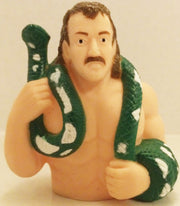 (TAS032522) - Titan Sports WWF WWE Wrestling Candy Container - Jake The Snake, , Other, Wrestling, The Angry Spider Vintage Toys & Collectibles Store