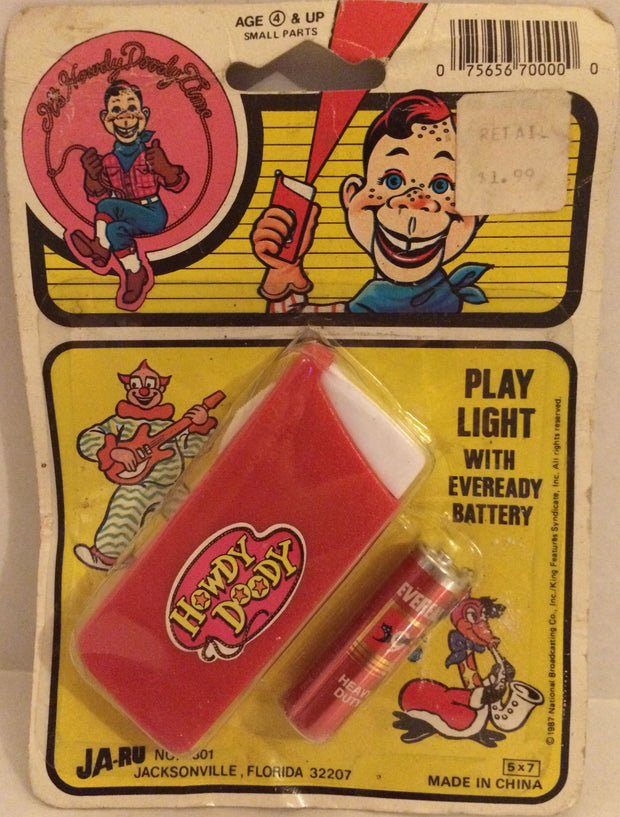 (TAS032529) - Ja-Ru It's Howdy Doody Time - Play Light w/Battery, , Lights, Ja-Ru, The Angry Spider Vintage Toys & Collectibles Store