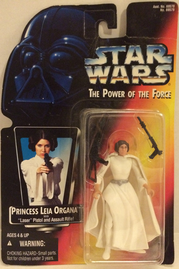 (TAS032546) - Kenner Star Wars The Power Of The Force - Princess Leia Organa, , Action Figure, Wrestling, The Angry Spider Vintage Toys & Collectibles Store