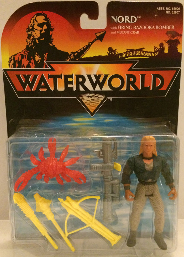 (TAS032548) - Waterworld Action Figure - Nord w/ Bazooka Bomber, , Action Figure, Wrestling, The Angry Spider Vintage Toys & Collectibles Store