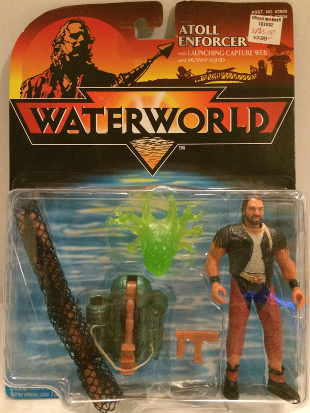 (TAS032549) - Waterworld Action Figure - Atoll Enforcer, , Action Figure, Wrestling, The Angry Spider Vintage Toys & Collectibles Store