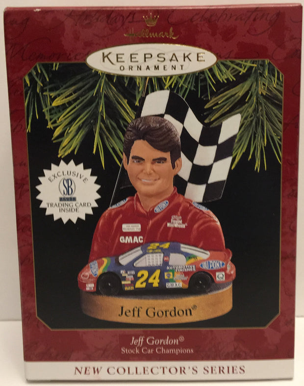 (TAS032555) - Hallmark Keepsake Christmas Ornament - Nascar Jeff Gordon #24, , Ornament, Hallmark, The Angry Spider Vintage Toys & Collectibles Store  - 1
