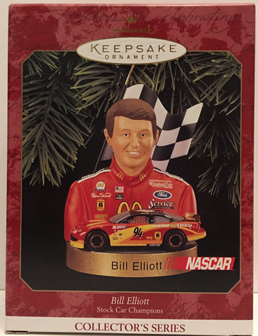 (TAS032556) - Hallmark Keepsake Christmas Ornament - Nascar Bill Elliott #94, , Ornament, Hallmark, The Angry Spider Vintage Toys & Collectibles Store  - 1