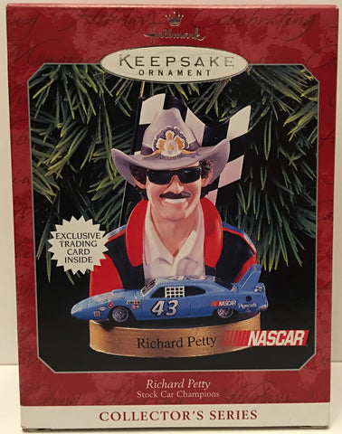 (TAS032557) - Hallmark Keepsake Christmas Ornament - Nascar Richard Petty #43, , Ornament, Hallmark, The Angry Spider Vintage Toys & Collectibles Store  - 1