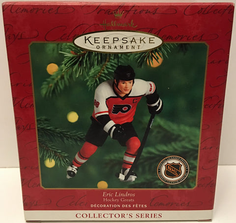 (TAS032559) - 2000 Hallmark Keepsake Christmas Ornament - NHL Eric Lindros, , Ornament, Hallmark, The Angry Spider Vintage Toys & Collectibles Store  - 1