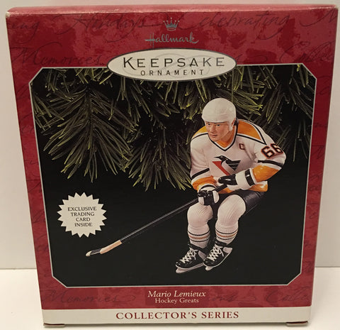 (TAS032562) - 1998 Hallmark Keepsake Christmas Ornament - NHL Mario Lemieux #66, , Ornament, Hallmark, The Angry Spider Vintage Toys & Collectibles Store  - 1
