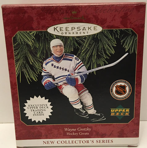 (TAS032563) - 1997 Hallmark Keepsake Christmas Ornament - NHL Wayne Gretzky, , Ornament, Hallmark, The Angry Spider Vintage Toys & Collectibles Store  - 1