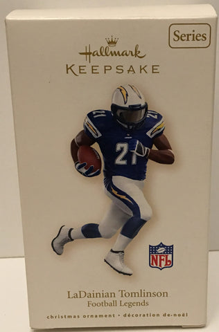 (TAS032568) - Hallmark Keepsake Christmas Ornament - NFL LaDainian Tomlinson #21, , Ornament, Hallmark, The Angry Spider Vintage Toys & Collectibles Store  - 1