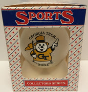 (TAS032572) - 2004 NCAA Sports Christmas Ornament - Georgia Tech, , Ornament, NCAA, The Angry Spider Vintage Toys & Collectibles Store  - 1