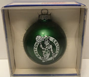 (TAS032582) - 1990 Topperscot NBA Glass Christmas Ornament - Boston Celtics, , Ornament, NBA, The Angry Spider Vintage Toys & Collectibles Store  - 1