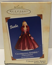 (TAS032586) - 2002 Hallmark Keepsake Christmas Ornament - Celebration Barbie, , Ornament, Hallmark, The Angry Spider Vintage Toys & Collectibles Store  - 1