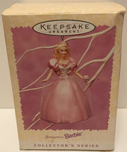 (TAS032594) - 1996 Hallmark Keepsake Christmas Ornament - Springtime Barbie, , Ornament, Hallmark, The Angry Spider Vintage Toys & Collectibles Store  - 1