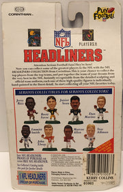 (TAS032596) - 1996 Corinthian NFL Carolina Panthers Headliners - Kerry Collins, , Bobblehead, NFL, The Angry Spider Vintage Toys & Collectibles Store  - 2