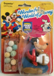 (TAS032615) - Disney Wonderful World of Disney Pocket Gumball Dispenser - Goofy, , Other, Disney, The Angry Spider Vintage Toys & Collectibles Store