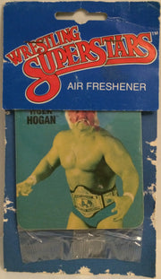 (TAS032620) - Titan Sports WWE Wrestling Superstars Air Freshener - Hulk Hogan, , Other, Wrestling, The Angry Spider Vintage Toys & Collectibles Store