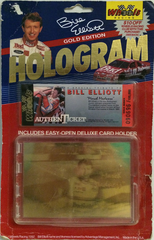 (TAS032629) - Wheels Racing Nascar Gold Edition Hologram - Bill Elliott #11, , Trucks & Cars, NASCAR, The Angry Spider Vintage Toys & Collectibles Store