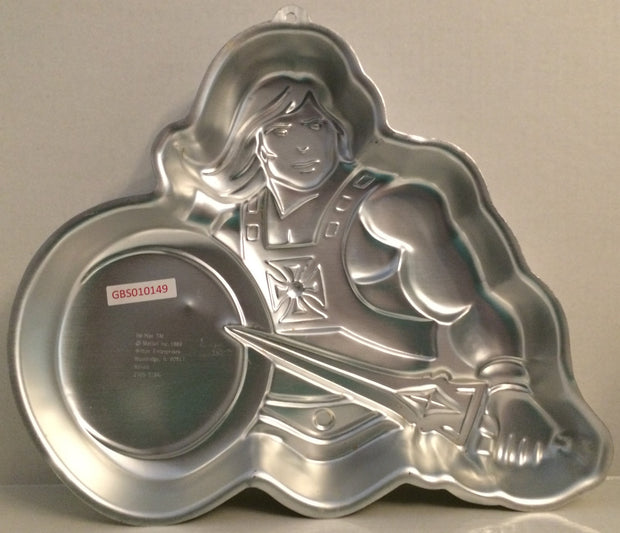 (TAS032642) - Wilton Masters of the Universe Cake Pan - He-Man, , Kitchen, MOTU, The Angry Spider Vintage Toys & Collectibles Store