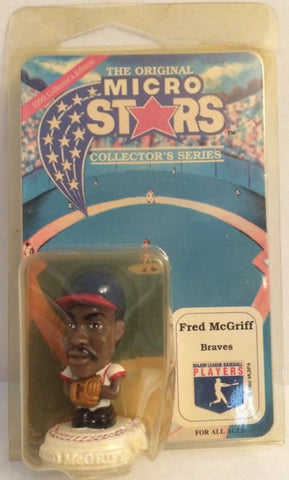 (TAS032647) - MLB The Original Micro Stars - Atlanta Braves Fred McGriff, , Action Figure, MLB, The Angry Spider Vintage Toys & Collectibles Store