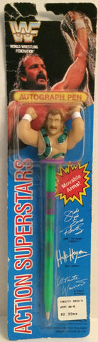 (TAS032649) - Titan Sports Wrestling Superstars Autograph Pen - Jake The Snake, , Pens, Wrestling, The Angry Spider Vintage Toys & Collectibles Store