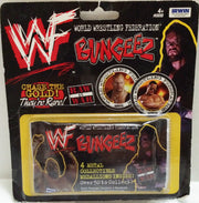(TAS032666) - Irwin WWF WWE Wrestling Bungeez Metal Medallions - Undertaker, , Other, Wrestling, The Angry Spider Vintage Toys & Collectibles Store