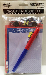 (TAS032667) - Nascar Racing Notepad Set - Jeff Gordon, , Other, NASCAR, The Angry Spider Vintage Toys & Collectibles Store