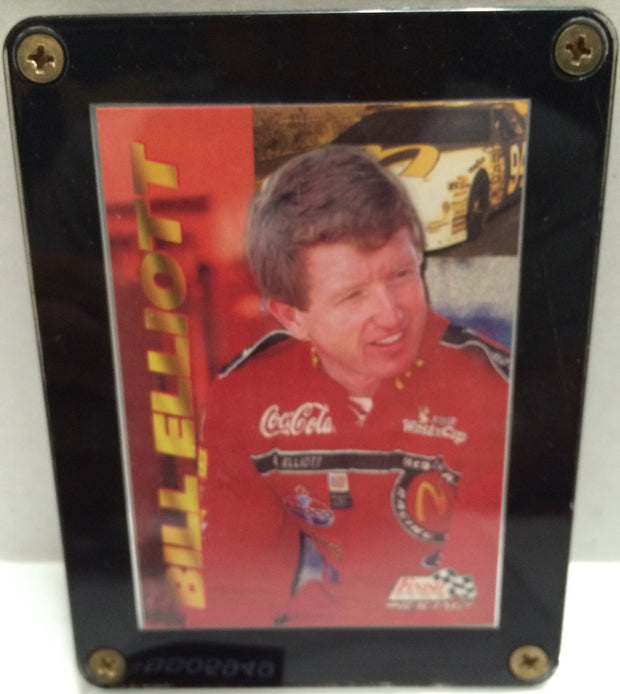 (TAS032673) - Nascar Bill Elliott Racing Card Plaque, , Other, NASCAR, The Angry Spider Vintage Toys & Collectibles Store