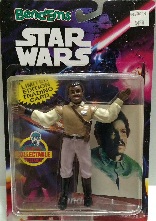 (TAS032679) - Just Toys Star Wars Bend-Ems Figure - Lando, , Action Figure, Star Wars, The Angry Spider Vintage Toys & Collectibles Store