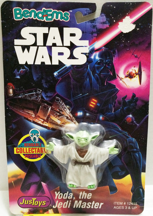 (TAS032683) - Just Toys Star Wars Bend-Ems Figure - Yoda, The Jedi Master, , Action Figure, Star Wars, The Angry Spider Vintage Toys & Collectibles Store