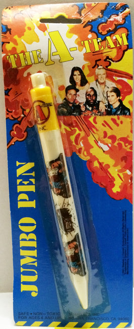 (TAS032691) - The A-Team Vintage Jumbo Pen, , Pens, The A-Team, The Angry Spider Vintage Toys & Collectibles Store