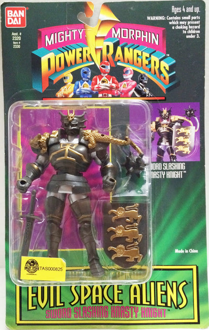 (TAS032695) - Bandai Mighty Morphin Power Rangers - Evil Space Aliens - Knight, , Action Figure, Power Rangers, The Angry Spider Vintage Toys & Collectibles Store