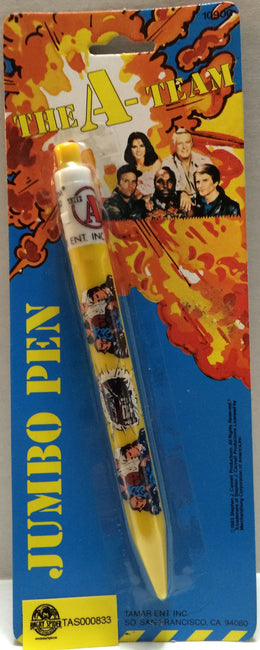 (TAS032696) - The A-Team Vintage Jumbo Pen, , Pens, The A-Team, The Angry Spider Vintage Toys & Collectibles Store
