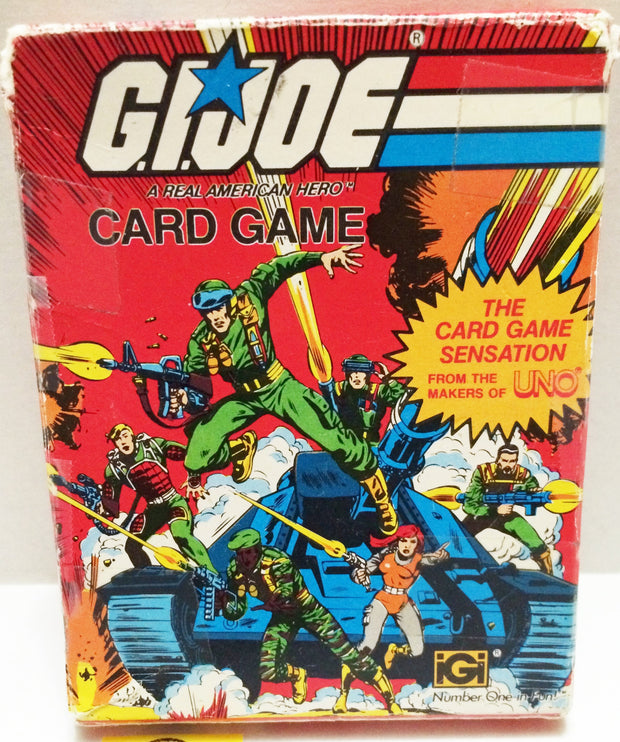 (TAS032707) - Hasbro G.I. Joe The Real American Hero Card Game, , Game, G.I. Joe, The Angry Spider Vintage Toys & Collectibles Store