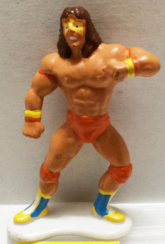 (TAS032723) - WWF WWE Wrestling PVC Applause Figure - Ultimate Warrior, , Action Figure, Wrestling, The Angry Spider Vintage Toys & Collectibles Store