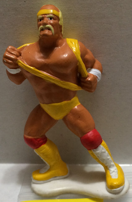 (TAS032727) - WWF WWE Wrestling PVC Applause Figure - Hulk Hogan, , Action Figure, Wrestling, The Angry Spider Vintage Toys & Collectibles Store