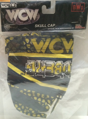 (TAS032729) - Racing Champions WCW Wrestling Skull Cap - Goldberg, , Clothing & Accessories, Wrestling, The Angry Spider Vintage Toys & Collectibles Store